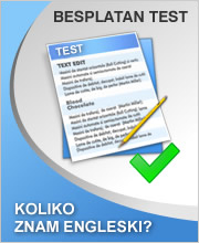 Test procene znanja engleskog jezika