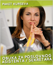Obuka za poslovnog sekretara