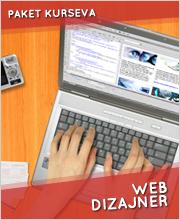 WEB dizajner